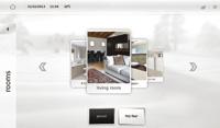 Gesti�n de ambientes. MyHOME_Screen10, la nueva pantalla t�ctil multimedia My Home, dom�tica de BTicino
