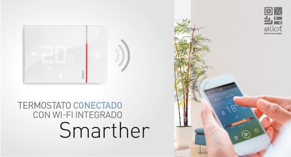 Smarther, el nueco termostato con WIFI conectado, de BTicino