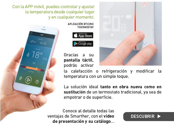 Smarther, control desde el móvil