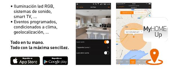 MyHOME_Up, la nueva domótica de BTicino APP mobile