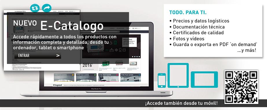 Nuevo E-Catalogo Grupo Legrand