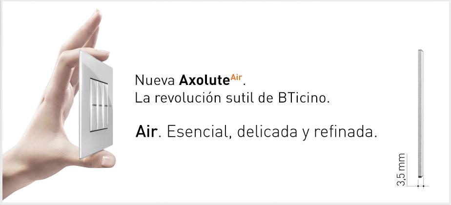 Axolute Air, la nueva y ultrasutil gama de Axolute en línea con las modernas tendencias del diseño