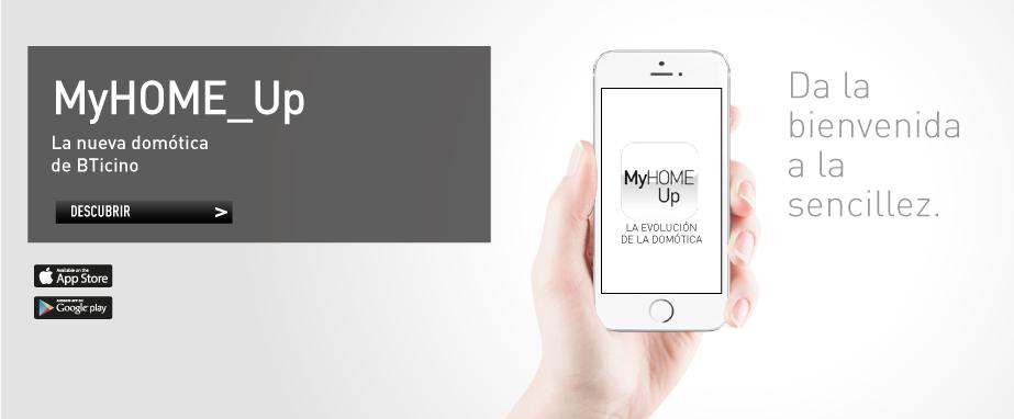 La domótica de BTicino evoluciona y adquiere un nuevo nombre: MyHOME_Up