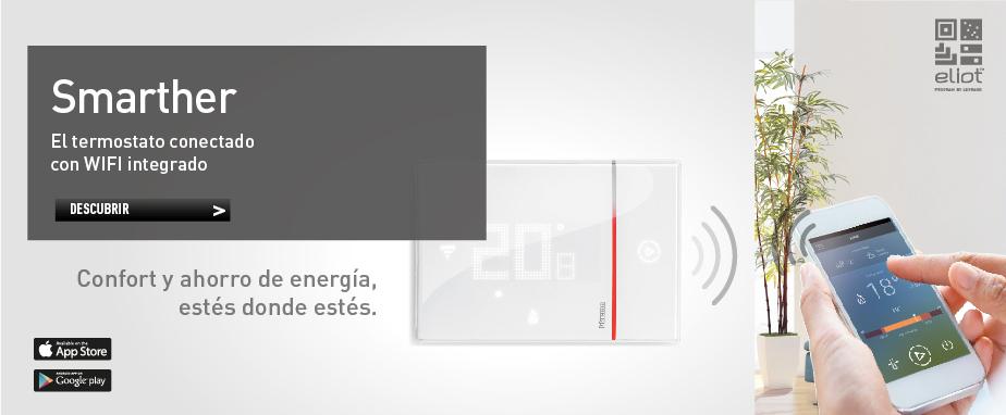 Smarther: Termostato con WI-FI