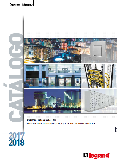 Capítulo Residencial Catálogo Legrand Group España 2017-2018