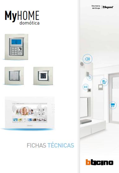 Fichas Técnicas dispositivos My Home