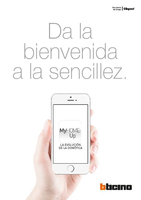 MyHOME_Up el instalador