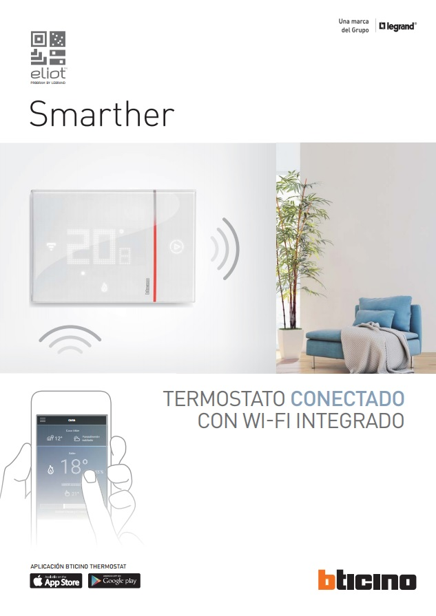 Catálogo Smarther: Termostato con WI-FI