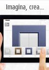 Imagen de la aplicación App para configuración de mecanismos de diseño Axolute & Livinglight, de BTicino
