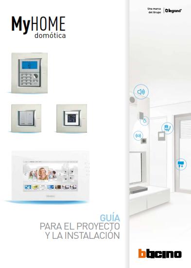 Imagen del e-book Guía para el proyecto y la instalación de la Domótica MyHOME 2013