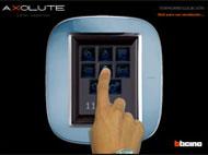 Imagen de la utilidad Simulador de pantalla touch screen para interruptores de diseño Axolute