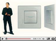 Interruptores Axolute Etèris: el encanto de un diseño innovador y esencial, de BTicino