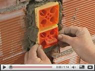 Mecanismos Axolute Etèris: Instalación en muro