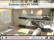 Sistema radio My Home para mecanismos de diseño Livinglight BTicino