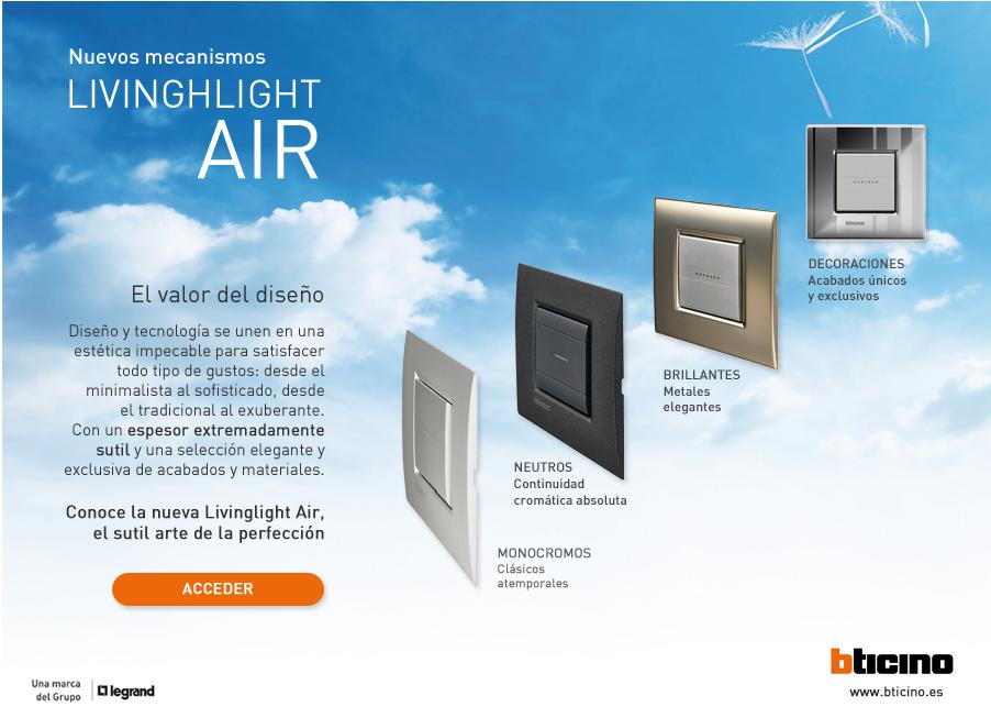 Nuevos mecanismos Livinglight AIR