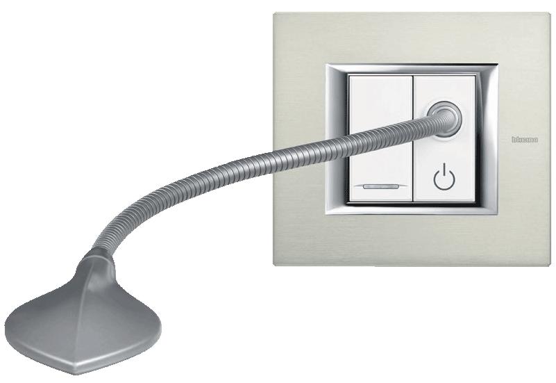 Imagen lámpara de lectura interruptores de diseño Bticino