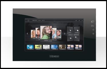 Novedades sobre la domótica de Bticino: imagen My home control nuevas funciones gracias al web server