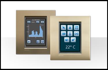 Novedades sobre la domótica de Bticino: Imagen Touch Screen color