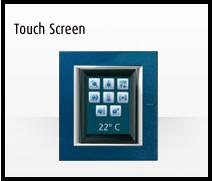 Domótica MyHome de Bticino: Touch Screen