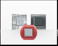 Serie de mecanismos e interruptores Livinglight de BTicino