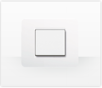 Serie de mecanismos e interruptores Màtix de Bticino. Placa Matix residencial