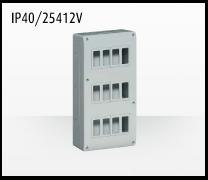 Porta mecanismos y mecanismos eléctricos e Idrobox de Bticino: IP40/25412V