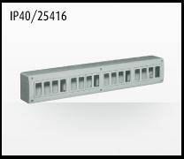 Porta mecanismos y mecanismos eléctricos e Idrobox de Bticino: IP40/25416