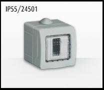 Porta mecanismos y mecanismos eléctricos e Idrobox de Bticino: IP55/24501