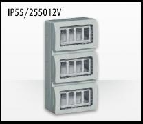 Porta mecanismos y mecanismos eléctricos e Idrobox de Bticino: IP55/255012V