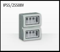 Porta mecanismos y mecanismos eléctricos e Idrobox de Bticino: IP55/25508V