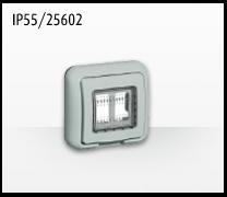 Porta mecanismos y mecanismos eléctricos e Idrobox de Bticino: IP55/25602