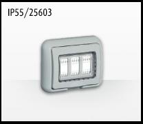 Porta mecanismos y mecanismos eléctricos e Idrobox de Bticino: IP55/25603