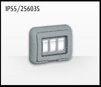 Porta mecanismos y mecanismos eléctricos e Idrobox de Bticino: IP55/25603S