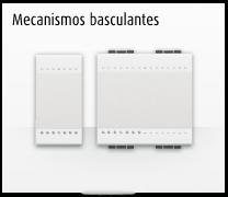 Serie de mecanismos e interruptores basculantes LIVINGLIGHT de BTicino