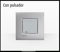 Serie de mecanismos e interruptores LIVINGLIGHT con pulsador Livinglight de BTicino