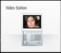Serie de mecanismos, interruptores e interfaces para domótica axolute vídeo station de BTicino