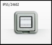 Porta mecanismos y mecanismos eléctricos e Idrobox de Bticino: IP55/24602