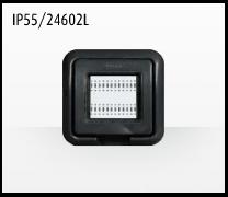 Porta mecanismos y mecanismos eléctricos e Idrobox de Bticino: IP55/24602L