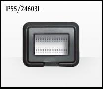 Porta mecanismos y mecanismos eléctricos e Idrobox de Bticino: IP55/24603L