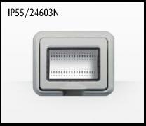 Porta mecanismos y mecanismos eléctricos e Idrobox de Bticino: IP55/24603N