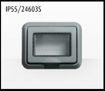 Porta mecanismos y mecanismos eléctricos e Idrobox de Bticino: IP55/24603