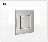 Serie de mecanismos e interruptores LIVINGLIGHT AIR de Bticino