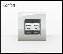 Domotica MyHome y la Serie de mecanismos e interruptores LIVINGLIGHT de BTicino, el confort