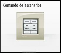 Domotica MyHome y la Serie de mecanismos e interruptores LIVINGLIGHT de BTicino, comando de escenarios para hoteles
