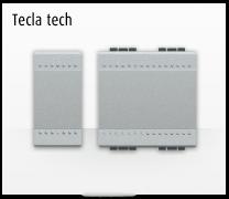Serie de mecanismos e interruptores LIVINGLIGHT, tecla Tech