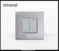 Serie de mecanismos interruptores LIVINGLIGHT universal de BTicino