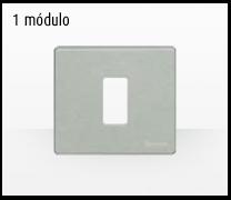 Serie de mecanismos y interruptores Magic de BTicino. 1 módulo