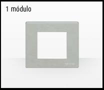 Serie de mecanismos y interruptores Magic de BTicino. 1 módulo grande