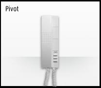 Telefonillo, videoportero y portero: Sistemas de comunicación 2 hilos de Bticino.  Telefonillo Pivot