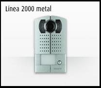 Telefonillo, videoportero y portero: Sistemas de comunicación 2 hilos de Bticino.  Videoportero  línea 2000 metal